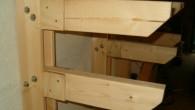 Så er min træreol ved at være færdig. Her kan du se hvordan hyldebærere er monteret med to bolte gennem hver hylde. For at sikre hylden yderligere er der skruet […]