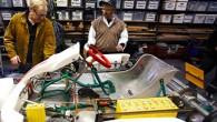 Man kan aldrig få for meget hyldeplads. I det lille indelukke, der er i bunden af værkstedet skal der være en reol som skal indeholde plastikkasser. Det vil være opbevaring […]