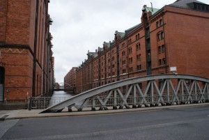 Kanalerne mellem Hamborgs gamle pakhuse