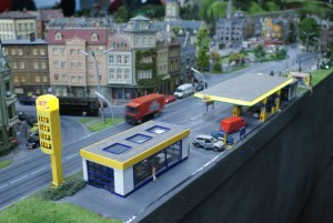 Jet Station fra Miniatur Wunderland