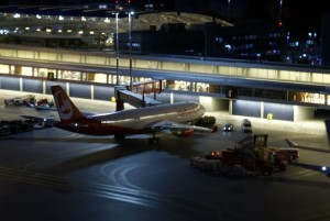Lufthavnen i Miniatur Wunderland
