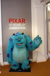 Pixar 25 års udstilling