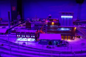 Vinter i Kiruna - Miniatur Wunderland