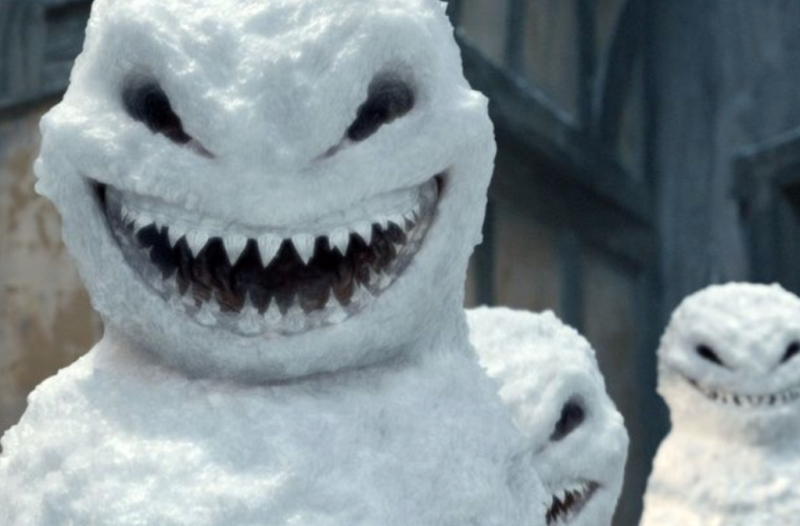En grusom snemand