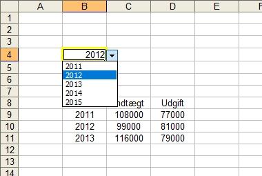 Ofte laver man en funktion i Excel hvor brugeren via en rulleliste kan vælge hvilket datasæt man ønsker at vise. F.eks. som dette lille eksempel Men når brugeren starter i […]